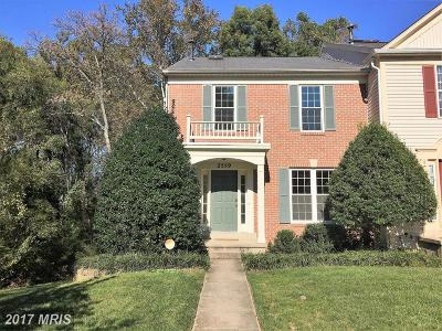 Olney Townhouse For Sale: 2559 Little Vista Terrace