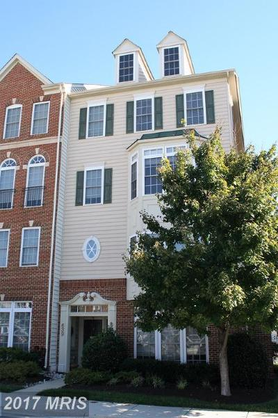 Gaithersburg Townhouse For Sale: 639 Kingfisher Avenue