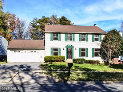 Gaithersburg Single Family Home For Sale: 8209 Brucar Court