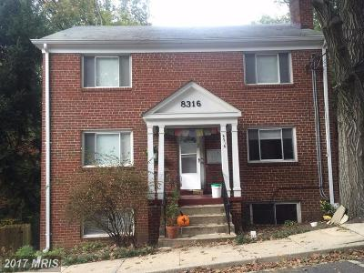 Takoma Park Condo For Sale: 8316 Roanoke Avenue
