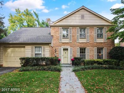 Rockville MD Single Family Home For Sale: $775,000