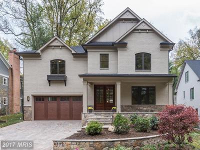 Bethesda Single Family Home For Sale: 6112 Winnebago Road