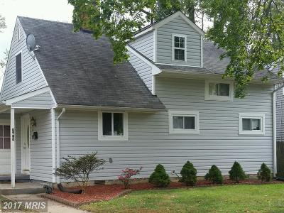 Rockville MD Single Family Home For Sale: $369,900