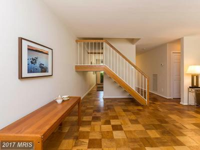 Bethesda Townhouse For Sale: 4985 Battery Lane