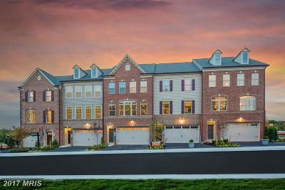 Brookeville Townhouse For Sale: 19041 St Albert Drive