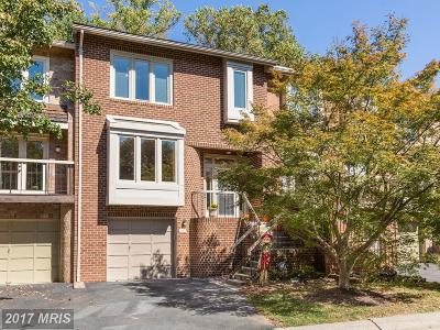 Brookeville, Olney Townhouse For Sale: 18015 Golden Spring Court #230