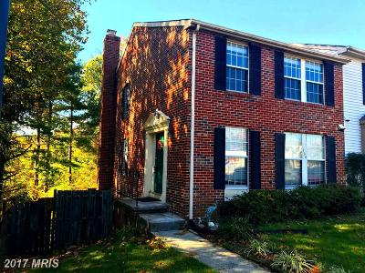 Gaithersburg Townhouse For Sale: 760 Clifftop Drive