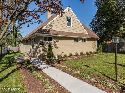 Silver Spring Single Family Home For Sale: 2105 Lanier Drive