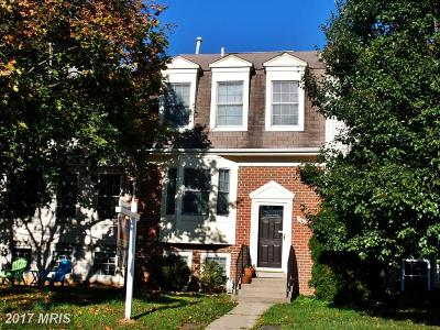 Gaithersburg Townhouse For Sale: 14 Almaden Place