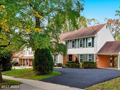 Silver Spring Single Family Home For Sale: 11808 Kemp Mill Road