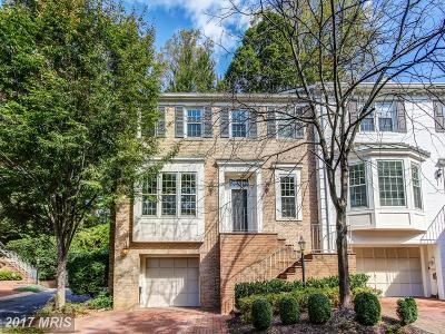 Bethesda Townhouse For Sale: 7907 Quarry Ridge Way