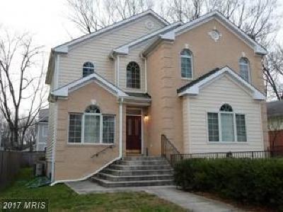 Bethesda Single Family Home For Sale: 10109 Dickens Avenue