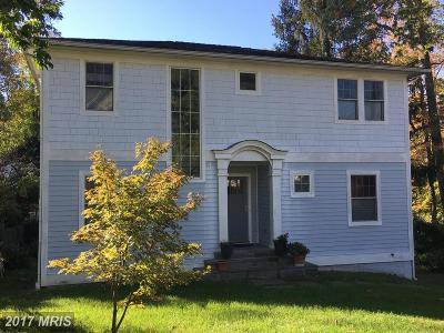 Bethesda Single Family Home For Sale: 6216 Madawaska Road