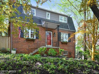 Takoma Park MD Single Family Home For Sale: $599,000