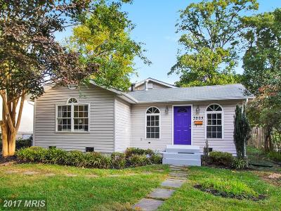 Kensington Single Family Home For Sale: 3905 Decatur Avenue