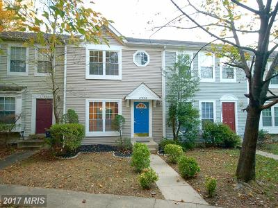 Brookeville, Olney Townhouse For Sale: 17939 Shotley Bridge Place