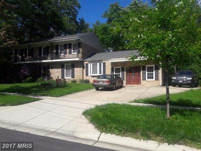 Potomac Single Family Home For Sale: 1998 Lancashire Drive