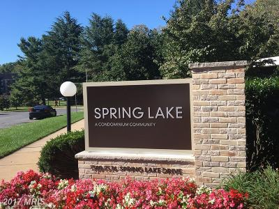 Bethesda Condo For Sale: 7529 Spring Lake Drive #B-2