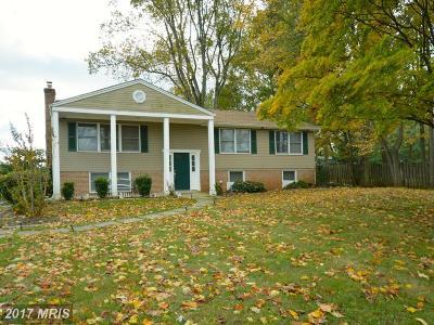 Derwood Single Family Home For Sale: 19645 Muncaster Road