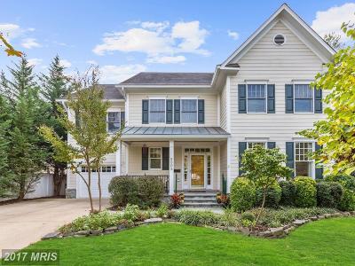 Bethesda Single Family Home For Sale: 5502 Hoover Street