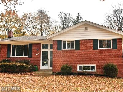 Silver Spring Single Family Home For Sale: 1808 Reedie Drive