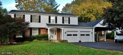 Brookeville, Olney Single Family Home For Sale: 17316 Lafayette Drive
