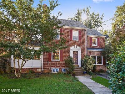 Silver Spring Single Family Home For Sale: 624 Wayne Avenue