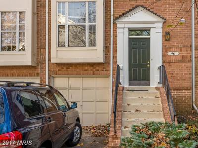Silver Spring Townhouse For Sale: 46 Silver Moon Drive