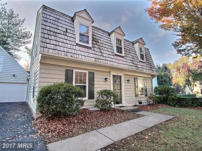 Gaithersburg Single Family Home For Sale: 219 Meadowgate Terrace