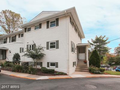 Bethesda Townhouse For Sale: 5301 Pooks Hill Road #408