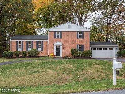 Silver Spring Single Family Home For Sale: 12604 Taylor Court