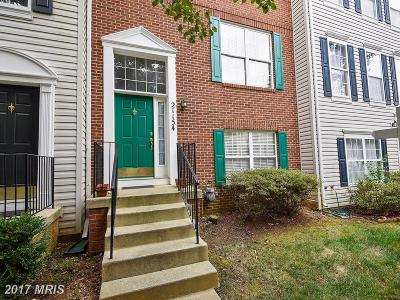 Germantown MD Townhouse For Sale: $278,000