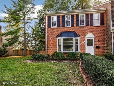 Silver Spring Townhouse For Sale: 12616 English Orchard Court