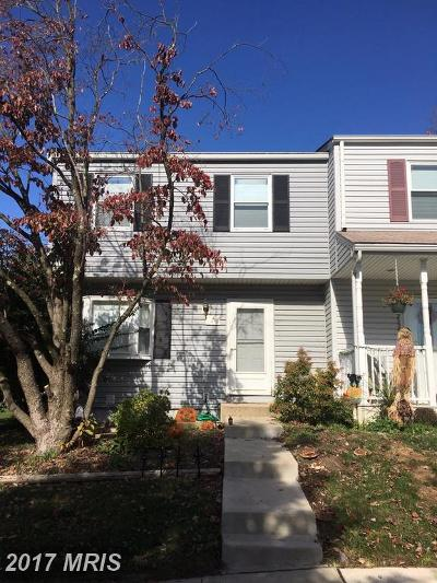 Gaithersburg MD Townhouse For Sale: $224,900
