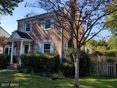 Silver Spring Single Family Home For Sale: 2009 Dayton Street