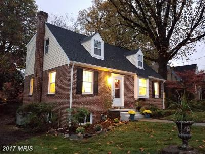 Silver Spring Single Family Home For Sale: 9305 Walden Road