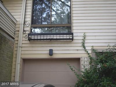 Gaithersburg Townhouse For Sale: 18706 Pier Point Place