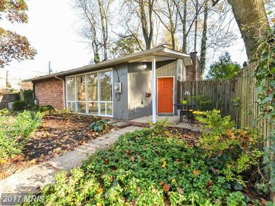 Silver Spring Single Family Home For Sale: 3402 Pendleton Drive