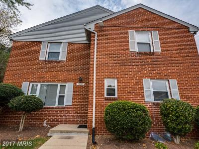 Silver Spring Townhouse For Sale: 12716 Epping Terrace #10-A