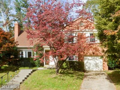 Bethesda Single Family Home For Sale: 9212 Cedar Way