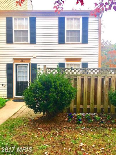 Burtonsville Single Family Home For Sale: 3306 Tapestry Circle