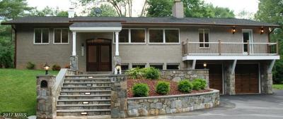 Bethesda Single Family Home For Sale: 8209 Stone Trail Drive