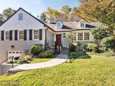 Chevy Chase Single Family Home For Sale: 6802 Brennon Lane