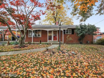Silver Spring Single Family Home For Sale: 134 Claybrook Drive