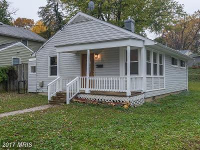 Rockville Single Family Home For Sale: 1230 Clagett Drive
