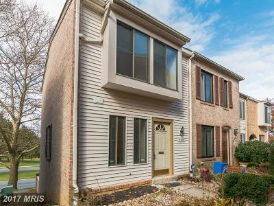 Montgomery Village MD Townhouse For Sale: $230,000