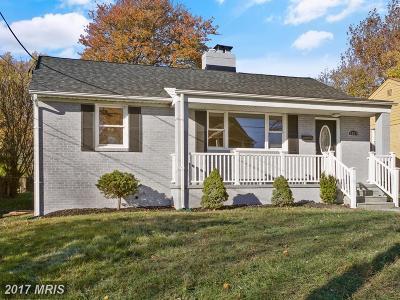 Silver Spring Single Family Home For Sale: 1807 Eldon Lane