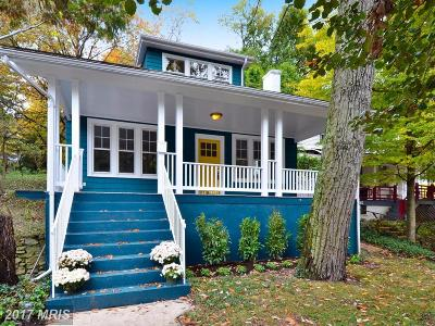 Takoma Park MD Single Family Home For Sale: $795,000