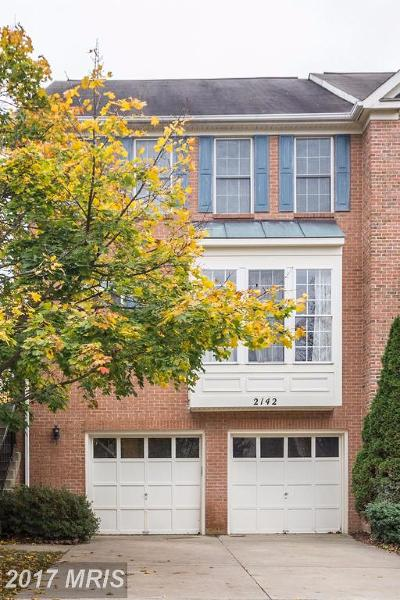 Silver Spring Townhouse For Sale: 2142 Elm Tree Lane