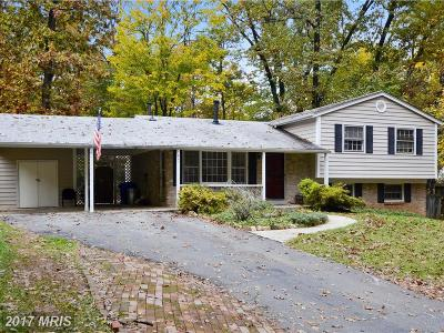 Rockville Single Family Home For Sale: 7621 Dew Wood Drive